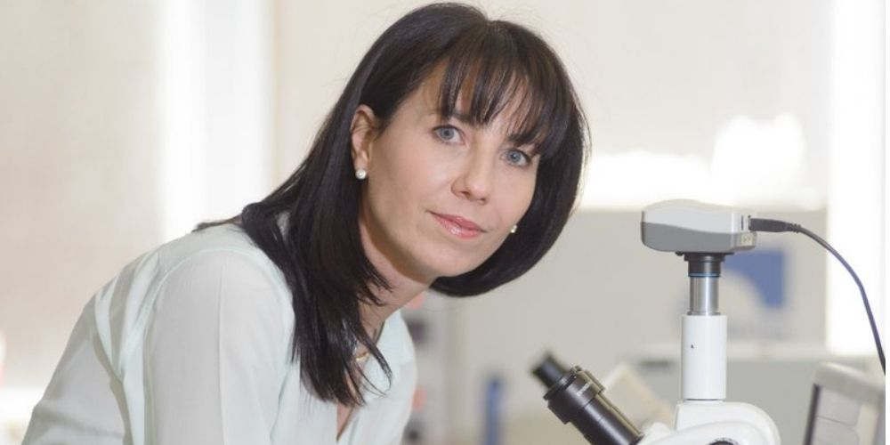 Prof Resia Pretorius who has written a study on Lactoferrin's potential against viruses and bacteria